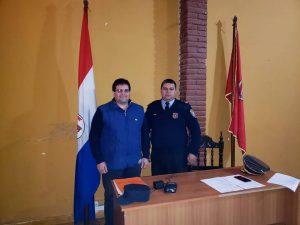 Nuevo Comisario en Piribebuy